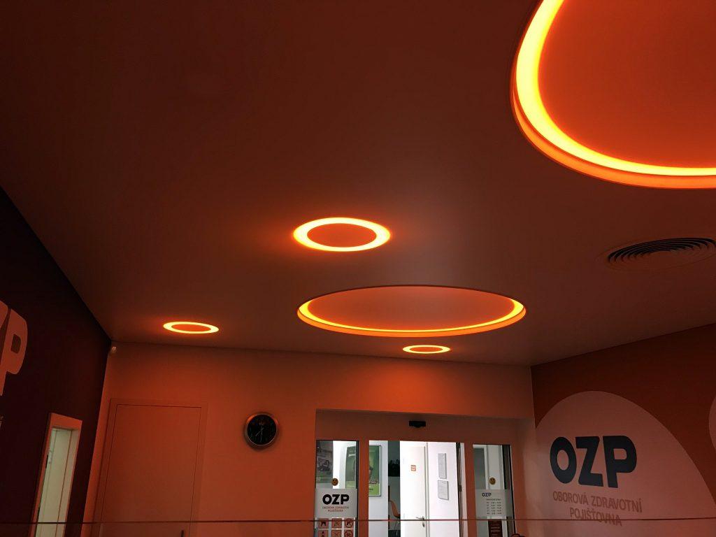 Designový napínaný strop OZP