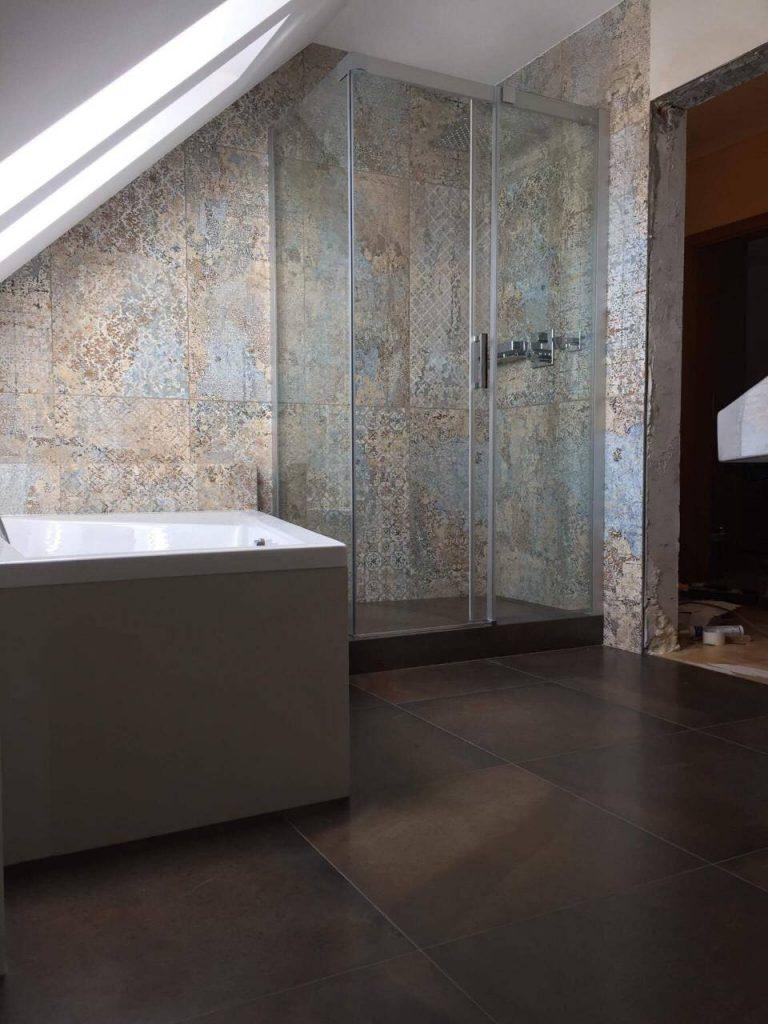 Badezimmer Rekonstruktion